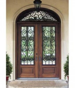 Mahogany-St-Charles-Wrought-Iron-entry-doors-Atlanta-Duluth-Athens ...